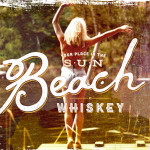Beach Whiskey Logo | Girl by Lake