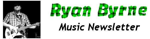 Ryan Byrne | Music Newsletter | Banner