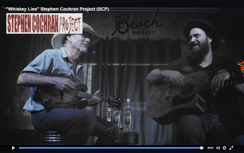 "Stephen Cochran Project | ""Whiskey Lies"" | Lyric Video"