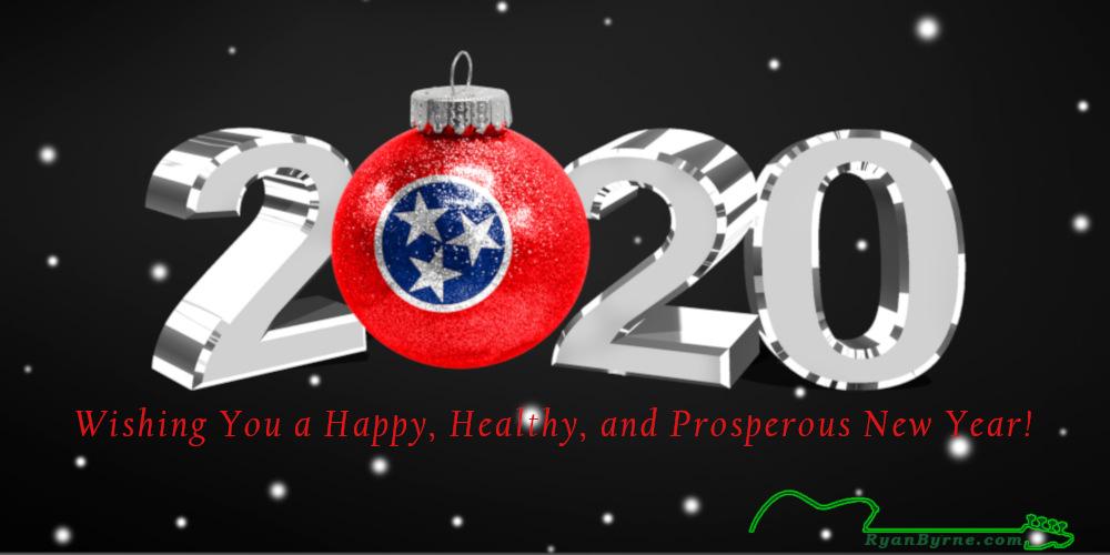 Happy New Year 2020 from Ryan Byrne!