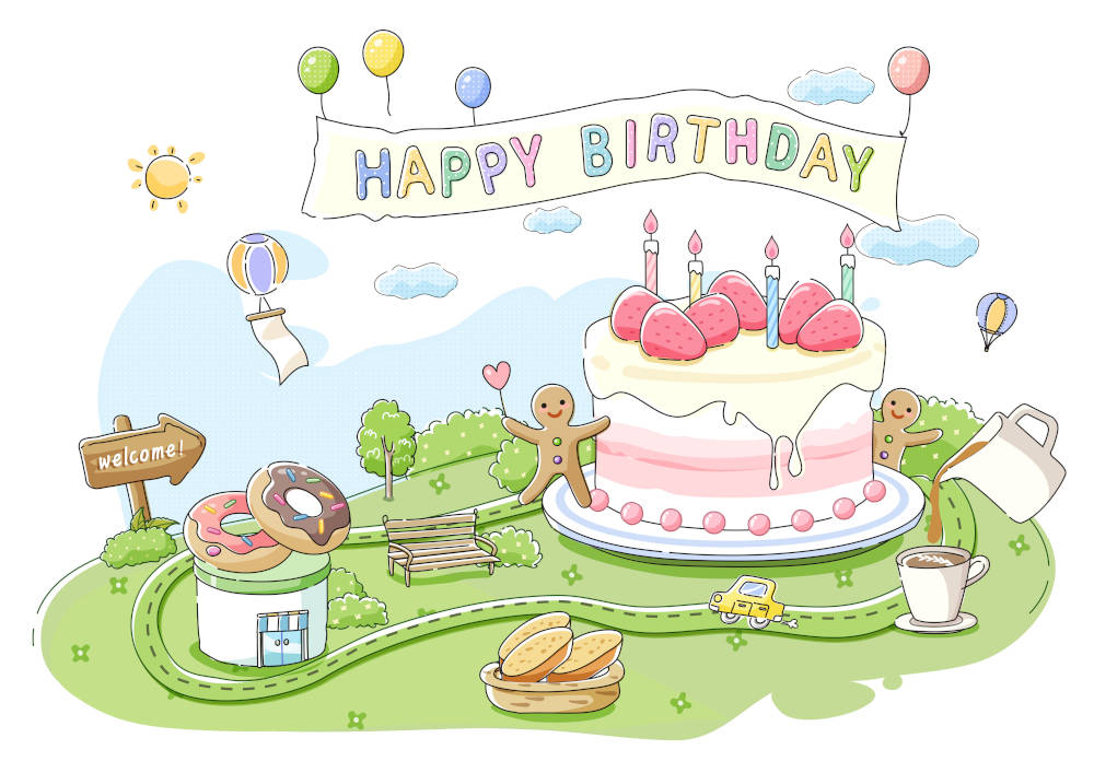 46th Birthday Wisdom | On The Road Of Life, Stop And Eat The Birthday Cake